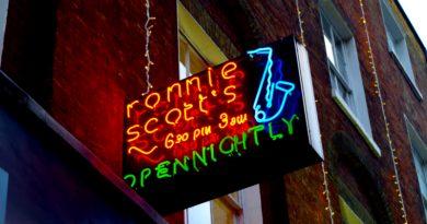 Ronnie Scott Neon