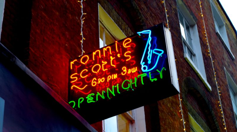 Ronnie Scott Neon