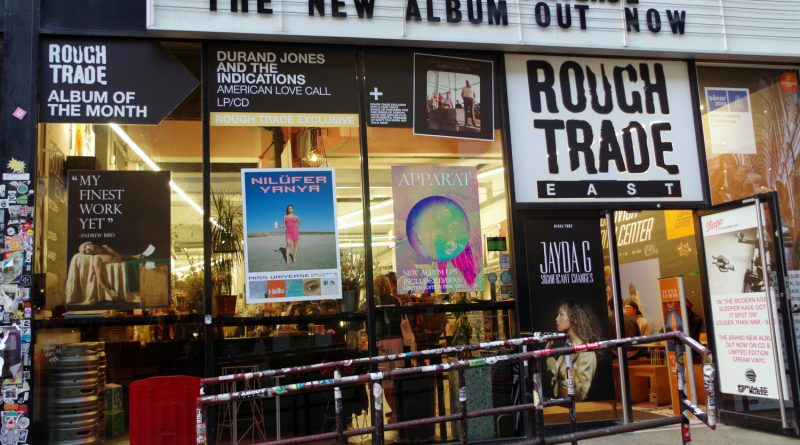 Rough Trade East Outside