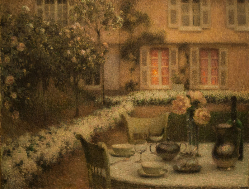 Table in the White Garden